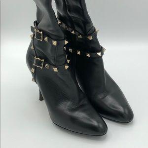 Valentino RockStud knee boots size 37